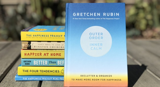 EP 120: Outer Order, Inner Calm with special guest, Gretchen Rubin