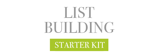 List Building Starter Kit