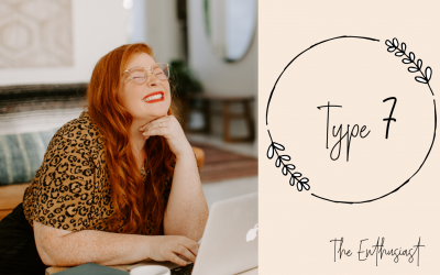 Ep 207: Enneagram Sevens with Sarajane Case